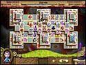 Скриншот мини игры Алиса в стране Маджонг