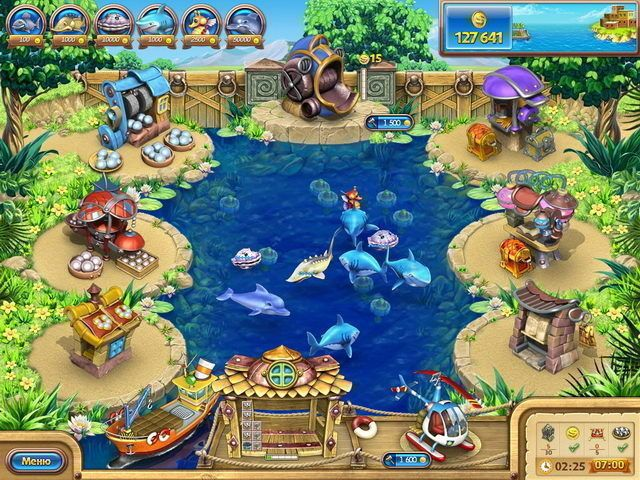 Screens Zimmer 8 angezeig: fish farm game